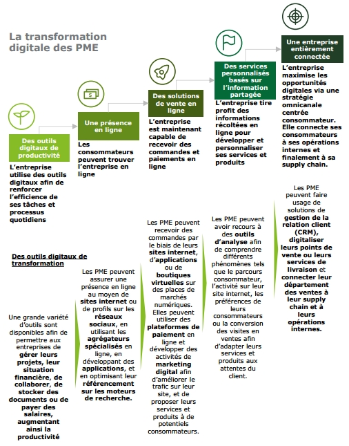 deloitte transformation digitale paliers