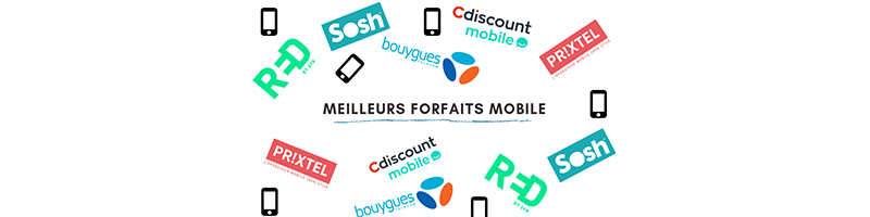 meilleurs forfaits mobiles